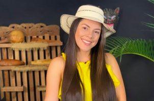 Doralis Mela está nominada como presentadora y artista revelación en Panamá. Foto: Instagram / @doralismela