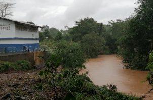 Los niveles de turbiedad que registran ambos ríos es consecuencia de las intensas lluvias registradas en los últimos días, según informó el Idaan. Foto: Eric Montenegro