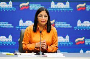 Vicepresidenta ejecutiva, Delcy Rodríguez