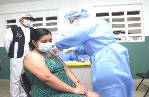 En el circuito 8-8 se tiene estipulado vacunar a más de 45 mil personas. Foto: Cortesía,Minsa.