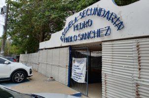 La comunidad educativa esta preocupada por los retrasos en las obras en la escuela Pedro Pablo Sánchez.