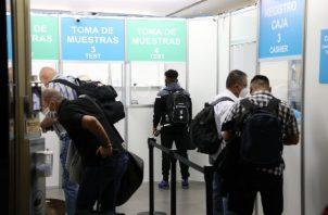 De la cepa de Reino Unido hay reportado un caso en Juan Díaz. Foto: Cortesía Aeropuerto Tocumen.