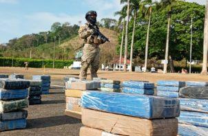 Durante la acción policial fueron detenidos varios ciudadanos colombianos.