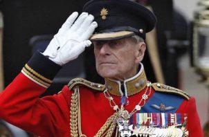 El príncipe Felipe pidió un funeral modesto y que su cuerpo no fuera velado en público. Foto: EFE
