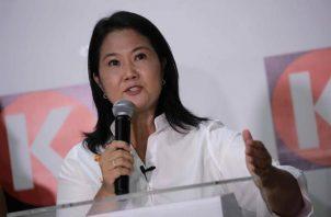 Keiko Fujimori, candidata a la presidencia del Perú por el partido Fuerza Popular. EFE