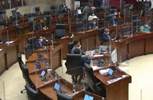 La propuesta legislativa fue aprobada en forma unánime, pero solo con la presencia de 37 de los 71 diputados. Imagen de internet