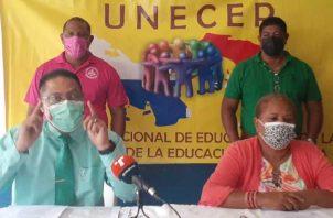 Humberto Montero, de Unecep, pide que el Minsa sea el que certifique a las escuelas. Foto de Víctor Arosemena