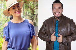 Doralis Mela y Raúl Aparicio. Fotos: Instagram