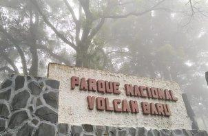 MiAmbiente suspendió el acceso al Parque Nacional Volcán Barú. Foto: Cortesía MiAmbiente