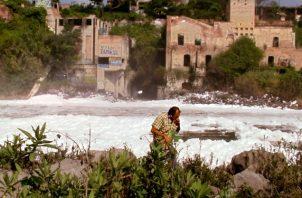 El filme habla sobre la legendaria cascada de El Salto de Juanacatlán en Jalisco. Foto: Descafeinado