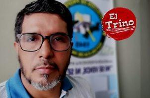 Meduca debe brindar mayor información, dice el secretario general de la Asoprof, Fernando Ábrego. Foto: Cortesía