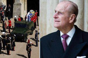 El coche fúnebre Felipe de Edimburgo es un Land Rover Defender que diseñó él mismo hace 16 años. Redes Sociales