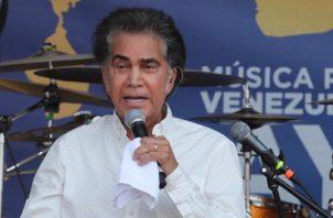 El cantante y actor venezolano José Luis Rodríguez 'El Puma'. EFE