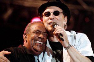 Rubén Blades y José 'Cheo' Feliciano. Foto: Internet