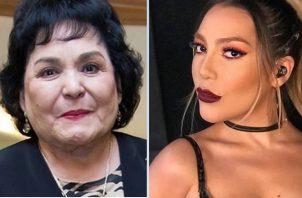 Carmen Salinas, es una de las que apoya a Frida Sofía. Instagram