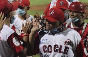 Coclé barrió a Panamá Oeste en las semifinales. Foto: Fedebeis
