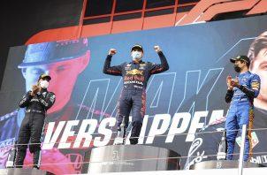 Max Verstappen fue el mejor este domingo. Foto: EFE