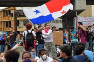 Protestas populares detuvieron la última intención de cambiar la Constitución. Foto: Archivo