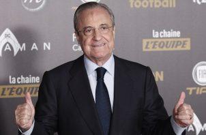 Florentino Pérez es el presidente del Real Madrid. Foto: EFE