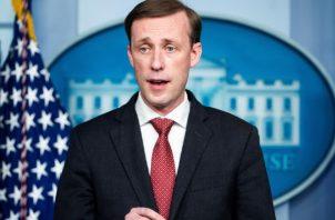 El asesor de Seguridad Nacional de la Casa Blanca, Jake Sullivan se refirió al ingresado en un hospital penitenciario del líder opositor ruso Alexéi Navalni. Foto: EFE
