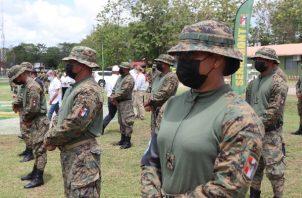 Unas 150 unidades del Senafront recibieron capacitación para realizar un trabajo más completo en la protección de los derechos humanos de los migrantes que se encuentran en el país. Foto: Cortesía Minseg