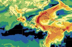 En alerte verde varias provincias por mal tiempo.