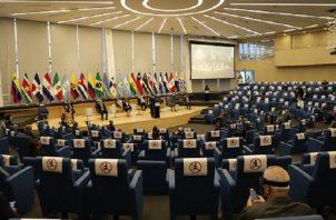 La convocatoria del diálogo se realizó el 18 de enero en la sede del Parlatino, donde actualmente se realizan las sesiones.