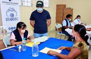 Bernardo Meneses pidió paciencia a los que no han recibido el pago. Foto: Cortesía Ifarhu