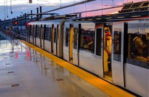 El Metro de Panamá recuerda a los usuarios no bajar la guardia contra el coronavirus. Foto: Cortesía Metro de Panamá