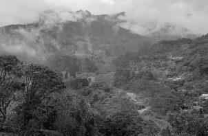 Vista de Boquete desde El Santuario. Foto: Cortesía del autor.