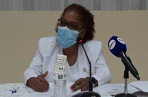 Ana Reyes recalcó que las enfermeras también tienen muchas necesidades. Foto: Víctor Arosemena