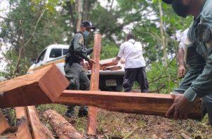 La retención se dio con la colaboración de unidades de la Policía Nacional. Foto: Mayra Madrid