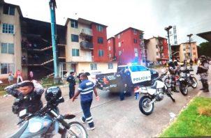 La Policía Nacional y personal de la Dirección de Investigación Judicial (DIJ), investigan estos crímenes. Foto: Diómedes Sánchez