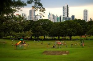 El Parque Omar es uno de los pulmones de la ciudad de Panamá.