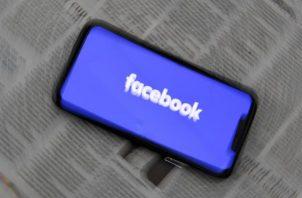 Aplicación de la red social Facebook.