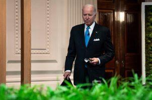 El mandatario de Estado Unidos, Joe Biden viajará a Cornualles (Reino Unido) para asistir a la reunión del G-7. Foto: EFE