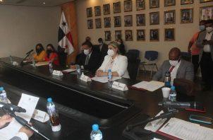 Reunión de la Comisión de Credenciales. Foto: Cortesía