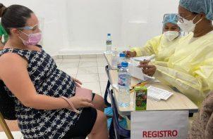 La población entera de 11 corregimientos en Panamá Oeste será inmunizada. Foto: Cortesía Minsa
