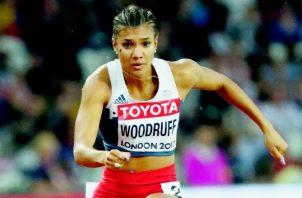 Gianna Woodruff es la segunda representante del atletismo en clasificar a Tokio. Foto: EFE