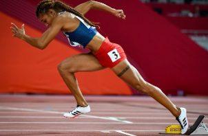 Gianna Woodruff superó la marca mínima para estar en los Juegos Olímpicos de Tokio. Foto: Cortesía COP