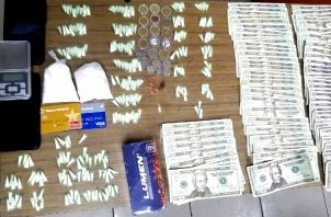 Una 13 personas fueron detenidas por microtráfico. Foto: Cortesía Policía Nacional