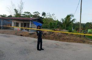 El Ministerio Público inició las investigaciones de este nuevo doble homicidio en Colón. Foto: Diomedes Sánchez