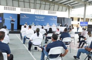 El pasado sábado, el presidente Laurentino Cortizo estuvo en Chiriquí revisando la intervención de los centros educativos. Foto: Cortesía Meduca