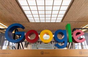 Logo del buscador de internet Google.