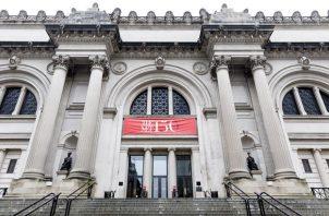 Vista de la entrada del Museo Metropolitano de Nueva York (Met).