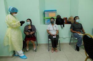 En Panamá se han colocado 622,720 dosis de la vacuna contra la covid-19. Foto: EFE