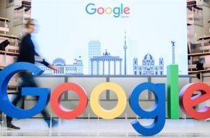 Logo del gigante de Internet Google.