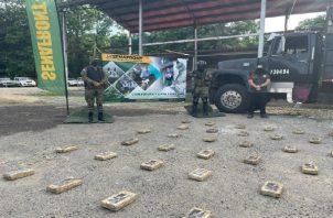Los estamentos de seguridad mantienen operativos en el área de Chepo para combatir el narcotráfico. Foto: Cortesía Senafront