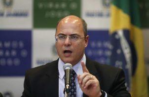 En la imagen, el gobernador de Río de Janeiro, el conservador Wilson Witzel. Foto: EFE
