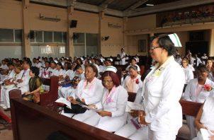 Enfermeras logran acuerdo con autoridades de la CSS y el Minsa. Archivo